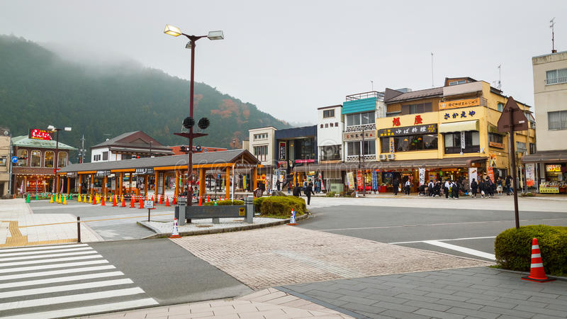 Nikko stad i Japan arkivfoton