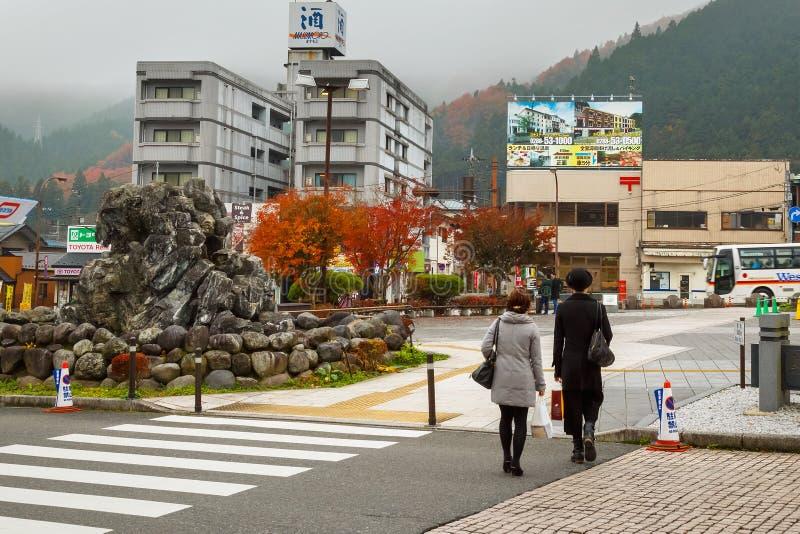 Nikko stad i Japan fotografering för bildbyråer