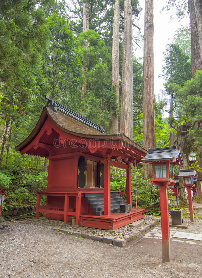 nikko tempel arkivfoto