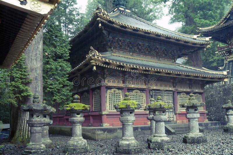 Nikko, tombeau de Toshogu photos libres de droits