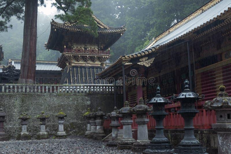 Download Nikko, Toshogu świątynia zdjęcie stock. Obraz złożonej z japonia - 28965512
