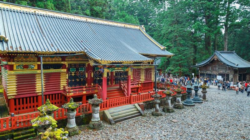 Nikko Toshogu relikskrin i Nikko, Tochigi, Japan fotografering för bildbyråer