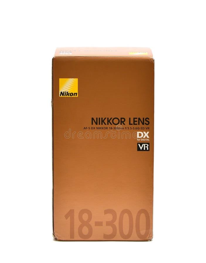 Nikkor透镜 免版税库存图片