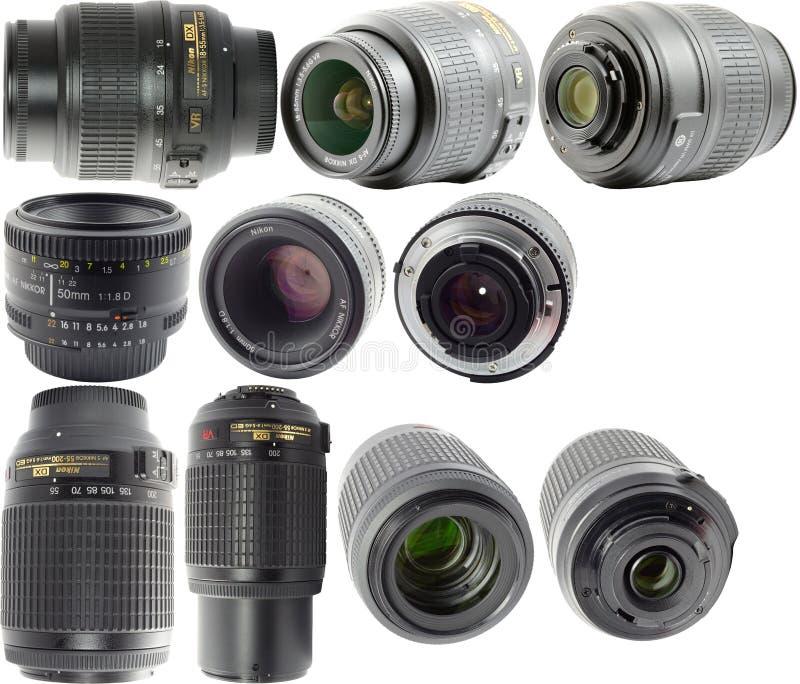 Nikkor Lenses royalty free stock photos
