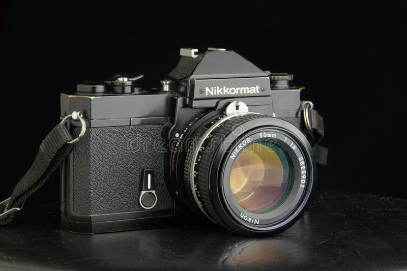 Nikkormat FT2 royalty free stock photography