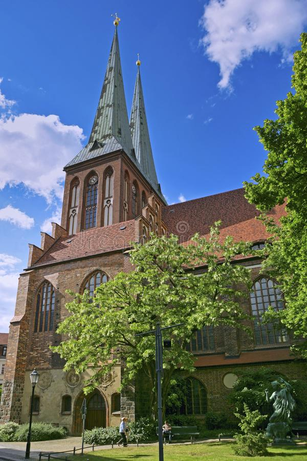 Nikolai Church, Berlin, Allemagne photographie stock