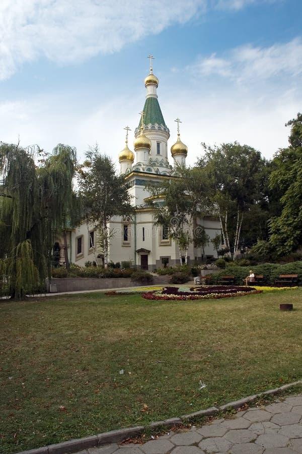 nikolai ST εκκλησιών στοκ εικόνες με δικαίωμα ελεύθερης χρήσης