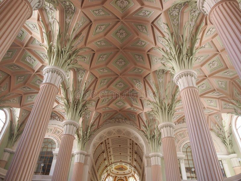Nikolaikirche莱比锡 库存图片