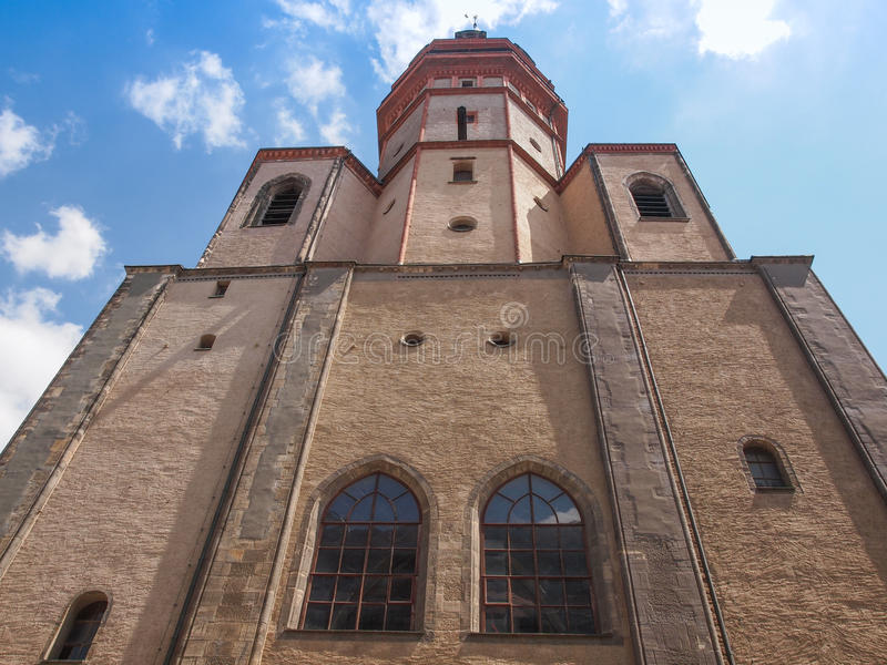 Nikolaikirche莱比锡 免版税库存照片
