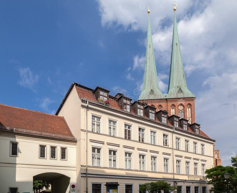 Nikolaikirche Berlin Niemcy zdjęcia stock