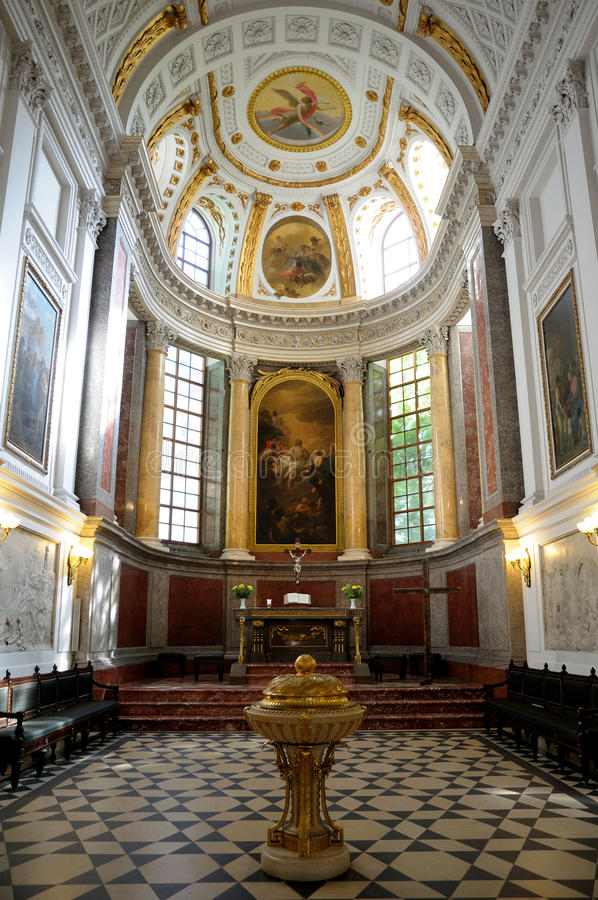 Nikolaikirche in Leipzig royalty free stock photos