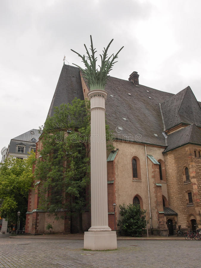 Download Nikolaikirche Leipzig foto de archivo. Imagen de premier - 42431602