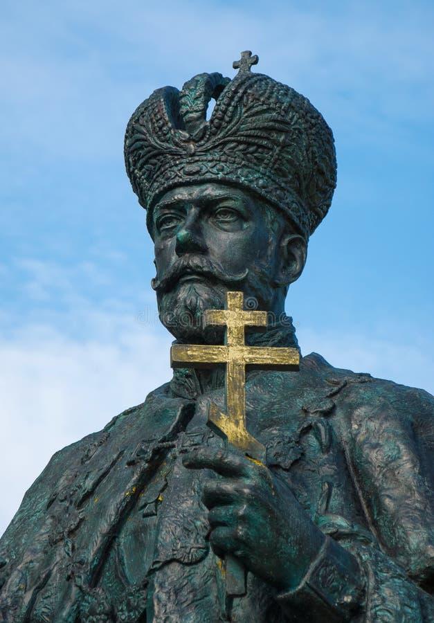Nikolaus II. Romanov lizenzfreies stockbild