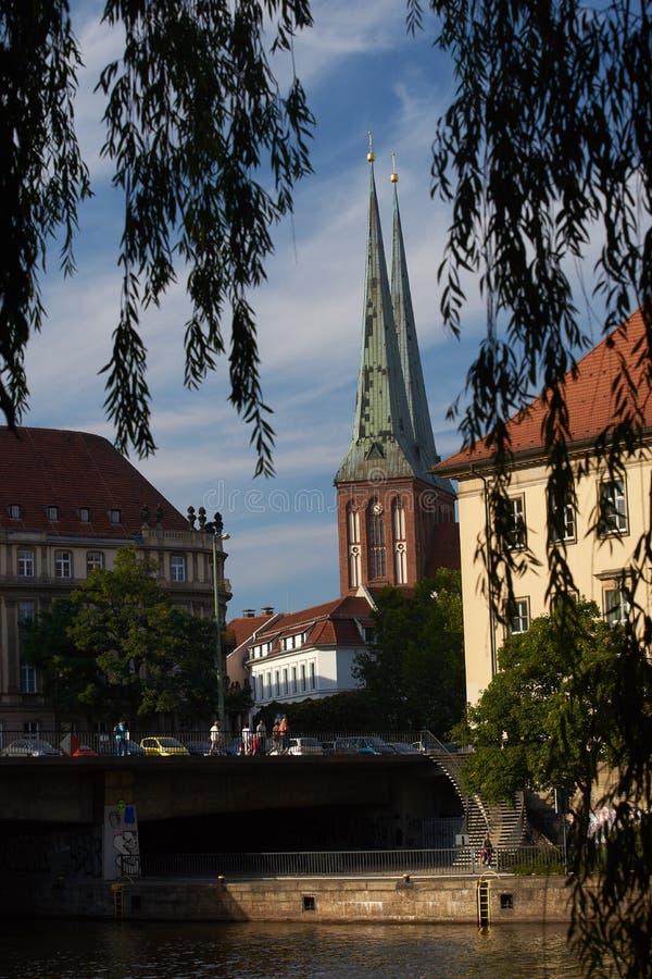 Nikolay quarter, Berlin royalty free stock photography
