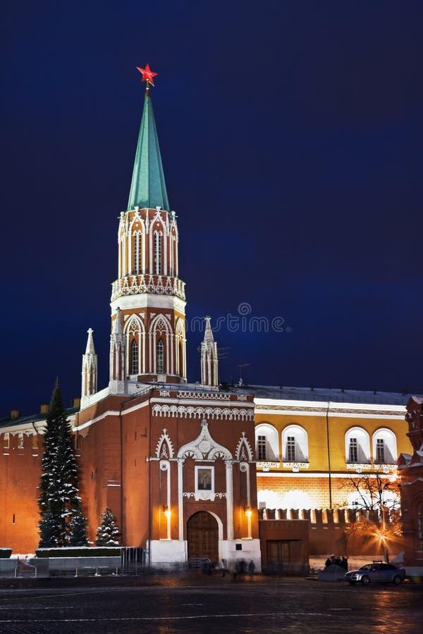 Download Nikolskaya Tower Of Moscow Kremlin Royalty Free Stock Image - Image: 22924216