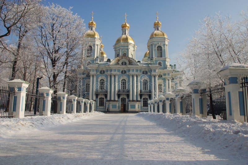 Nikolsky cathedral 3 stock photo