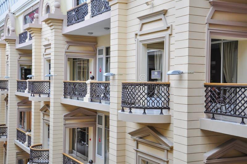 Nikolsky för shoppingmitt passage moscow russia arkivfoto