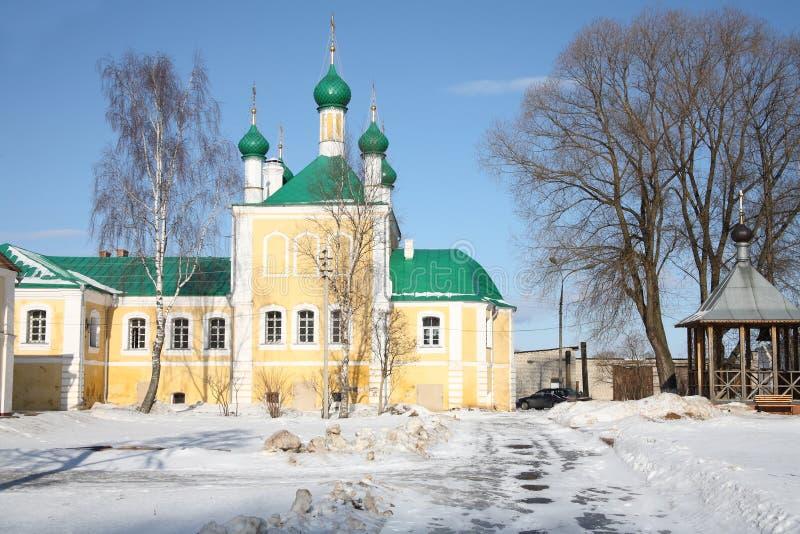 Nikolsky kloster royaltyfria foton