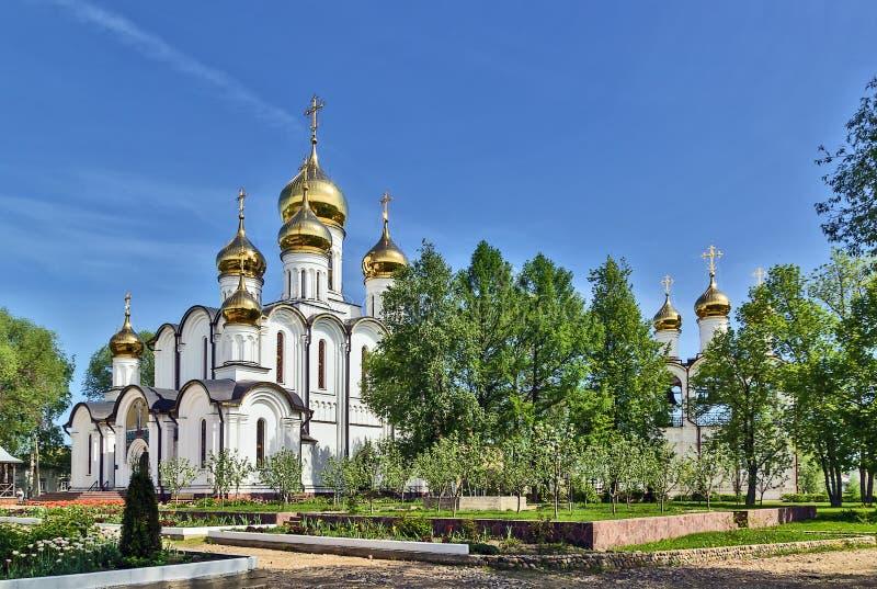 Nikolskyklooster, pereslavl-Zalessky stock afbeelding