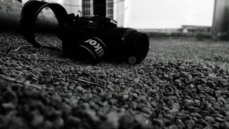 Nikon Camera On Pebbles Free Public Domain Cc0 Image