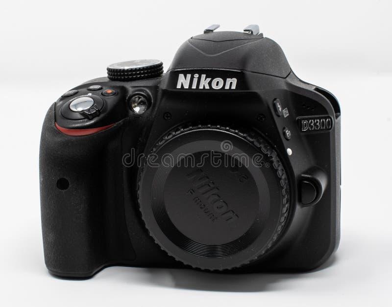 Nikon D3300 kamera arkivfoton