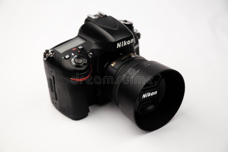 Nikon d610 Ukraine 2019. Nikon d610 photo of a closeup in the Studio stock photography