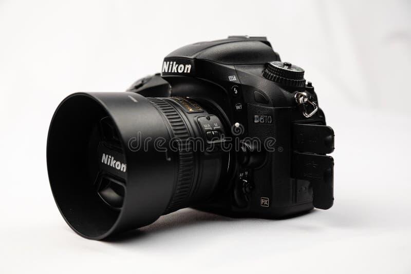 Nikon d610 Ukraine 2019. Nikon d610 photo of a closeup in the Studio royalty free stock photos