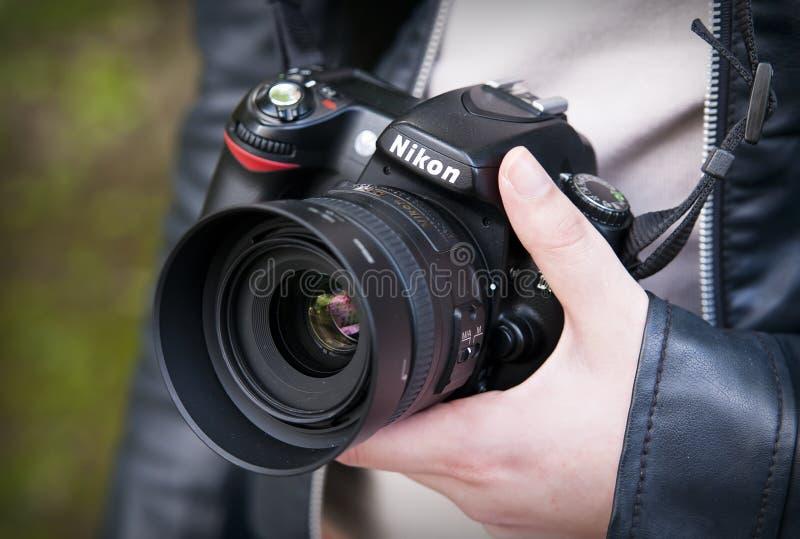 Nikon D80 imagem de stock