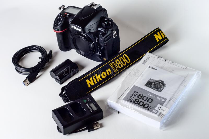 free public domain cc0 image nikon d800 with lanyard and battery