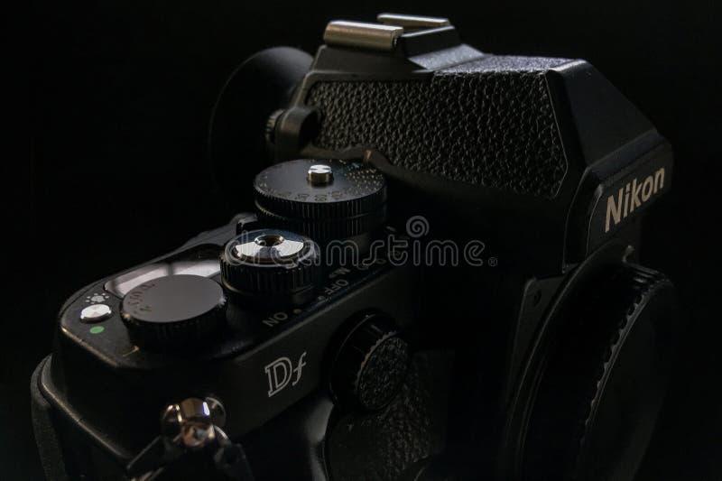 Nikon Df a retro DSLR stock photo
