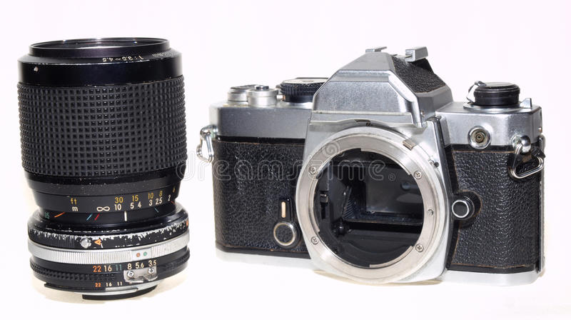 Download Nikon FM An Famous Famous Camera Stock Photo - Image: 33722296