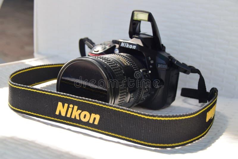 Nikon kamera royaltyfri bild