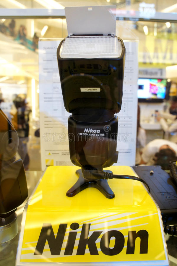 Nikon Speedlight SB-910 royalty free stock images