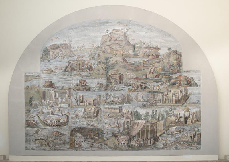 Nil mozaika Palestrina fotografia royalty free