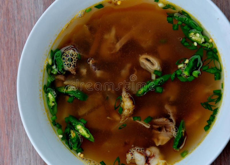 Nilaga (Beef Stew) stock image
