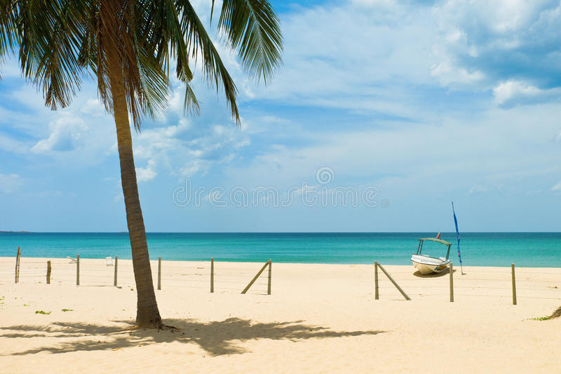 Nilaveli beach. In Trincomalee, Sri Lanka royalty free stock image