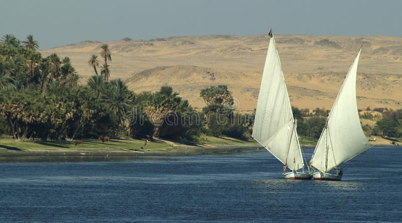 The Nile Stock Images