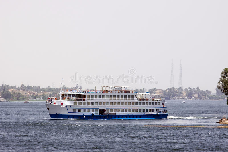 Download Nile cruise stock image. Image of culture, desert, luxor - 15578723