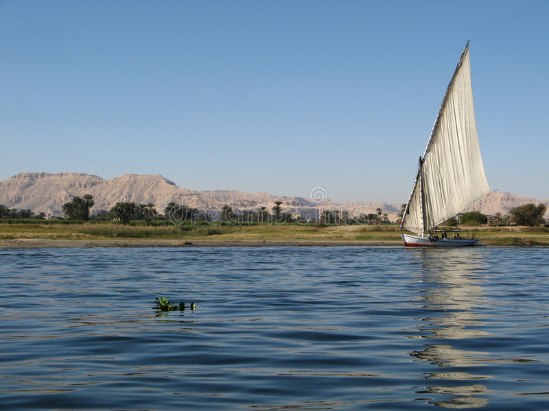 Nile, Egypt Stock Photo