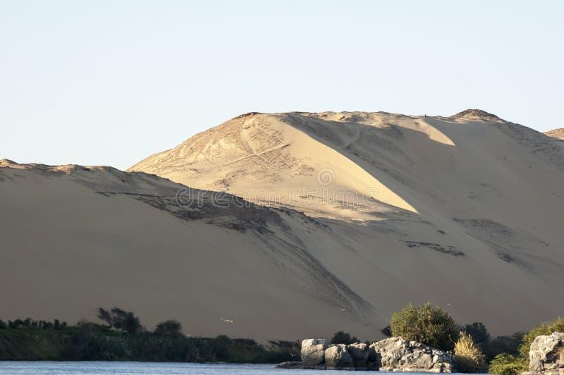 Nile flod arkivbild