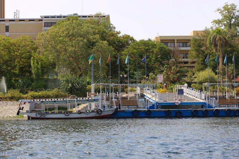 Nile River - Assuan Ägypten lizenzfreie stockbilder