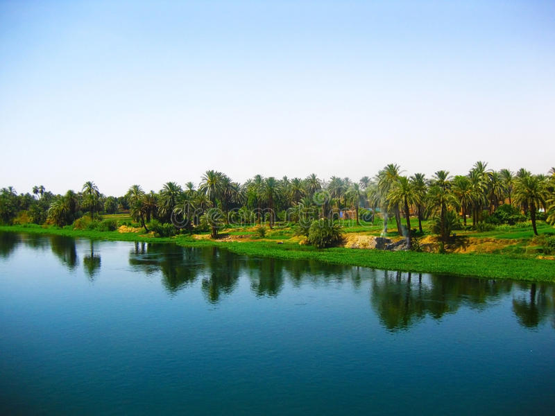 The Nile River, Egypt Stock Photo