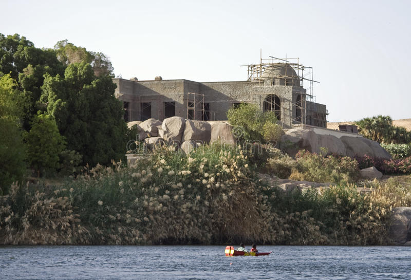 Download Nile River house,Aswan stock image. Image of travel, ships - 14031213