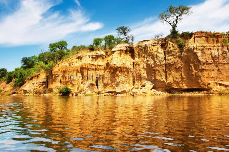 Download Nile River, Uganda stock image. Image of tree, clouds - 6785383