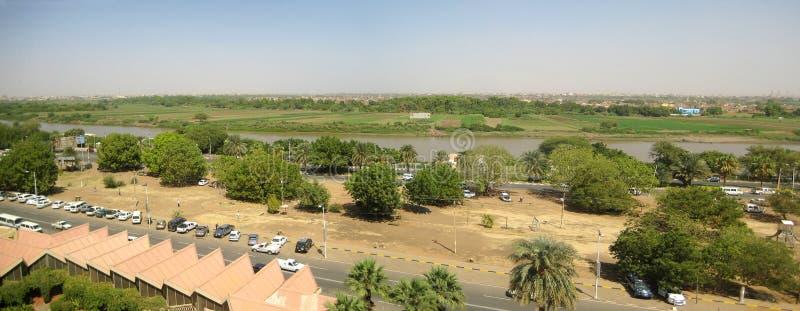 Nile in Sudan stock images