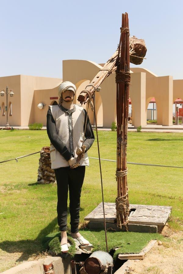 Nilenmuseum på Aswan, Egypten royaltyfria foton