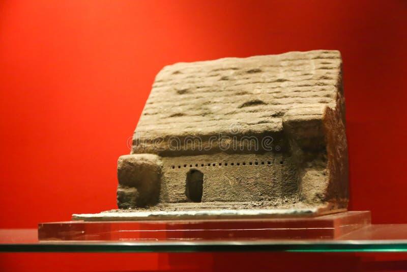 Nilenmuseum på Aswan, Egypten arkivbilder