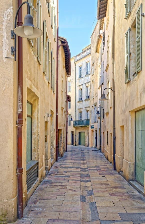Nimes, Франция стоковое изображение