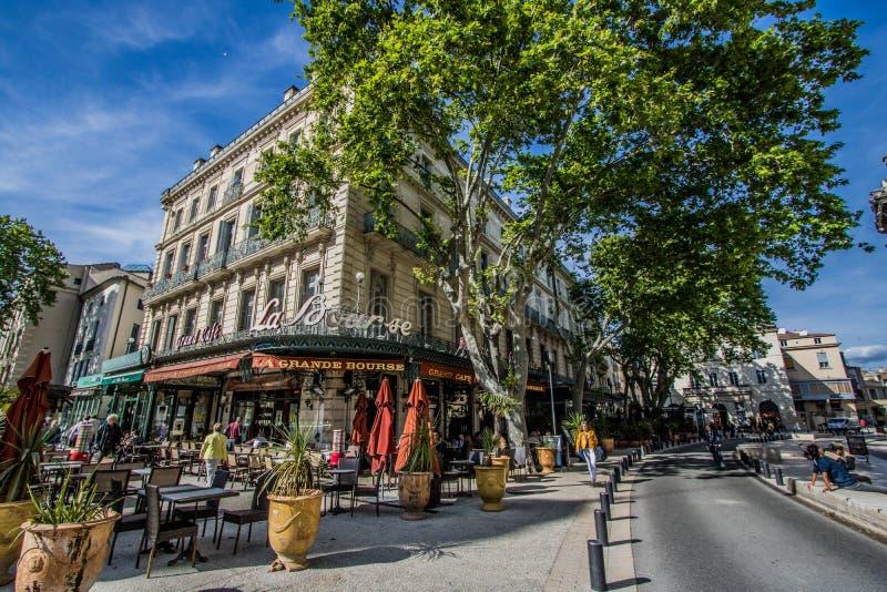 Nimes, França fotos de stock royalty free