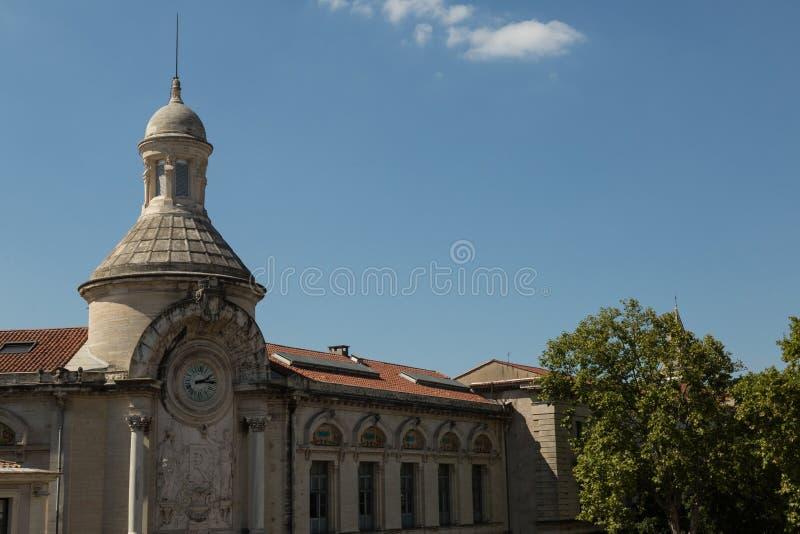 Nimes, Francia fotografia stock libera da diritti